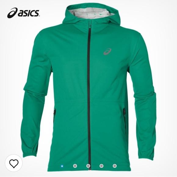 asics run jacket